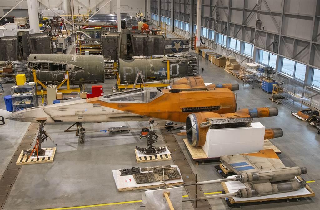 美國國家航太博物館收藏的X戰機,目前還在整理中。(圖/National Air and Space Museum)