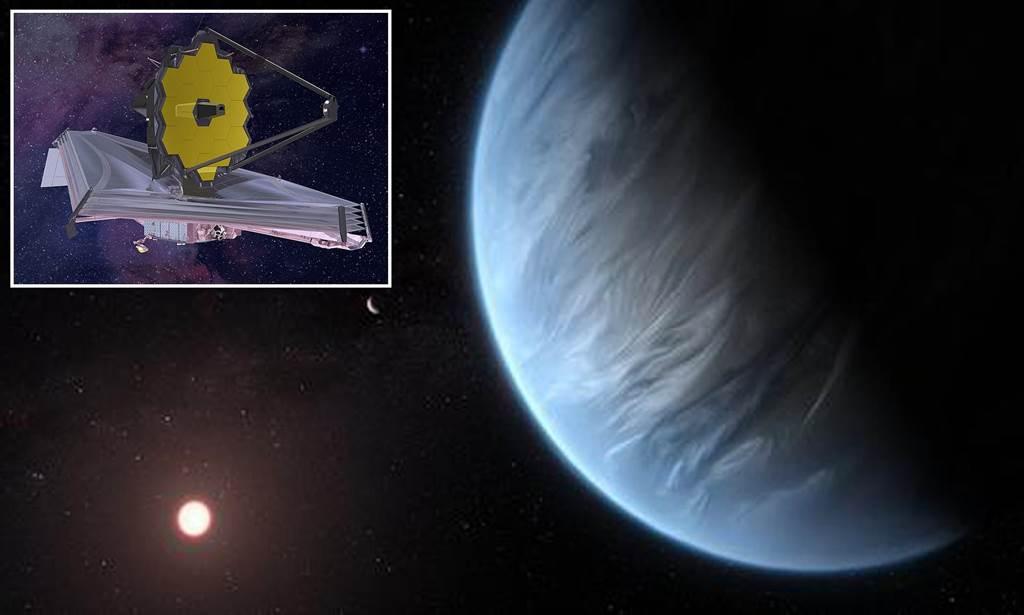 科學家表示,在今年10月韋伯太空望遠鏡送上太空以後,說不定在5~10年內就能找到外星生命。(圖/NASA)