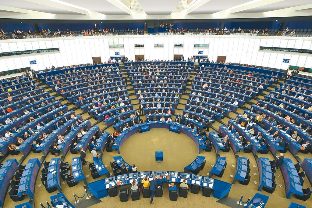 在歐盟內反中聲音高漲之際,中歐投資協定目前仍待歐洲議會審查。圖為歐洲議會總部。(新華社)