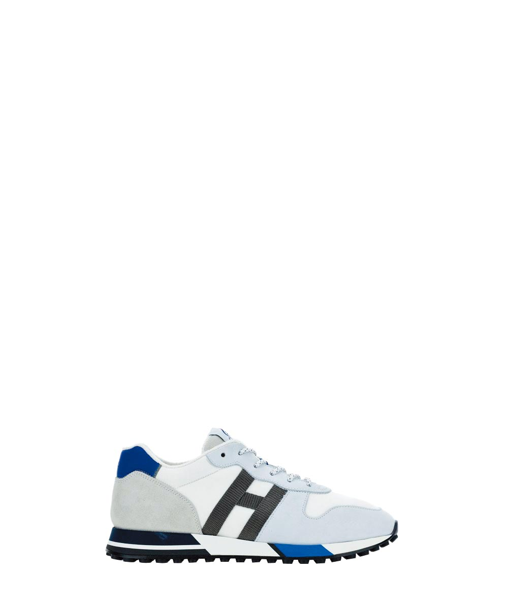 HOGAN H383藍灰色休閒鞋,1萬5900元。(HOGAN提供)