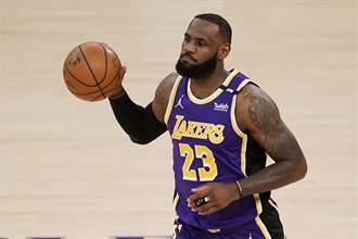 NBA》湖人麻煩了 詹姆斯腳踝本季難痊癒 將帶傷打季後賽