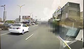 悲劇 7旬老翁騎腳踏車遭砂石車輾過慘死