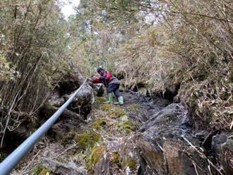 玉山9座山屋水情告急 排雲山莊急抽400公尺外溪水解渴