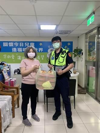 中和警協助送愛心到育幼院 讓孩童歡度暖心母親節