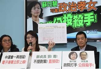 國民黨批修《公投法》閹割公投 蘇巧慧反擊:斷章取義