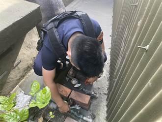 停水前公寓民宅漏水 中市員警化身水電工及時解除危機