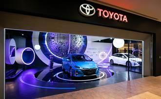 首間「TOYOTA品牌形象館」進駐林口OUTLET  宣示電動化車款宏圖