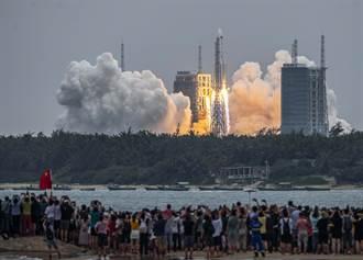 中國點火嘲笑印度  長征火箭失控全球關切墜落點