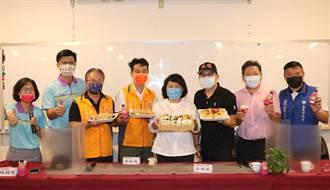 國中會考近 台灣好豬肉 「鬼滅」口罩為嘉義市學子加油