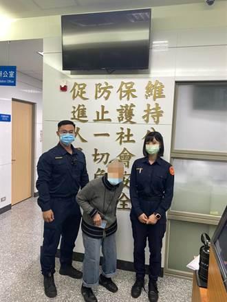 8旬婦與家人吵架三重走到萬華 警方熱心載送返家