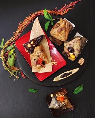 凱撒慶端午 首創黑鮪海鮮粽