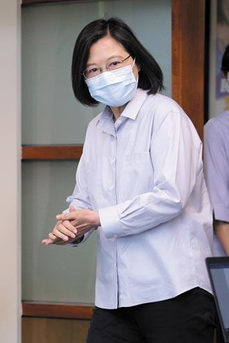 蔡宣示掃黑反毒 執法不受政治干擾