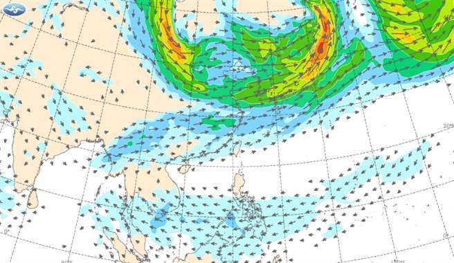吳德榮指出,未來一周將以午後熱對流發展為主,取代鋒面影響台灣天氣。(中央氣象局提供)