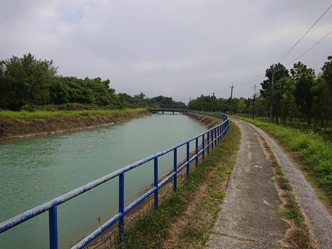 嘉南大圳灌溉水路綿延超過1萬6000公里,是台南市公告文化景觀,也是世界遺產潛力點之一。(台南市文化資產處提供/曹婷婷台南傳真)