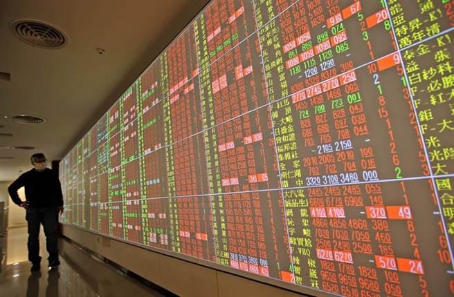 周三美股大多收紅,台北股市今(6日)開盤震盪走高。(示意圖/達志影像)
