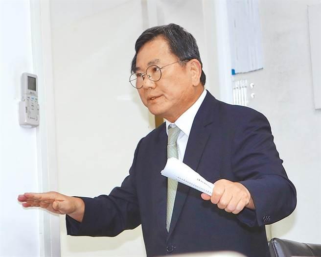民進黨立委陳明文。(報系資料照)