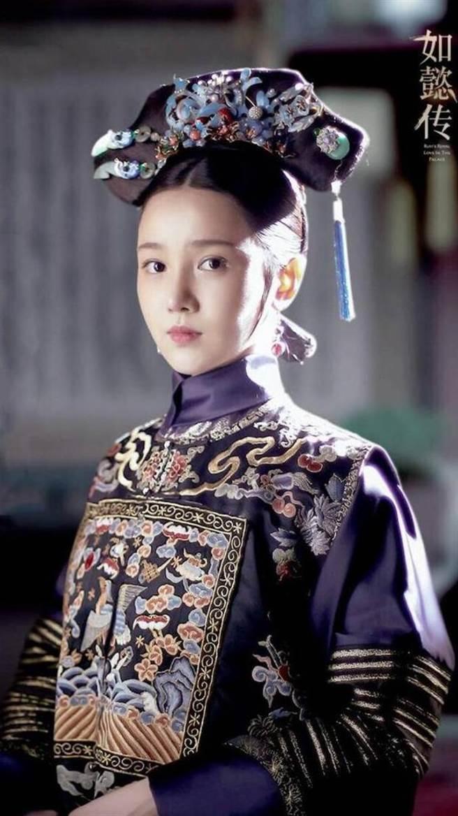陳小紜在《如懿傳》飾演宮女「惢心」走紅。(圖/《如懿傳》劇照)