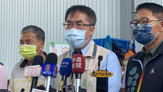 台南市長黃偉哲。(曹婷婷攝)