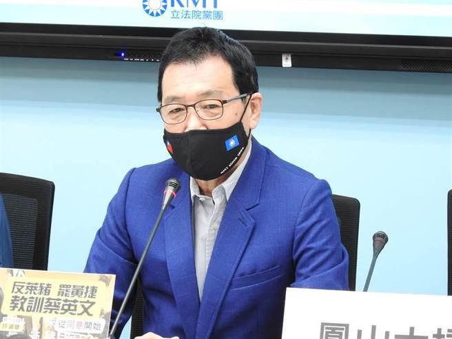 國民黨團總召費鴻泰。(本報資料照)