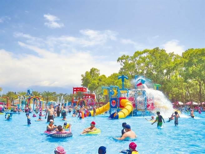 花蓮知卡宣森林親水公園夏日戲水活動今年預計在7月10至8月29日舉行,花蓮縣政府今年再度決定暫緩收費。(資料照/羅亦晽花蓮傳真)