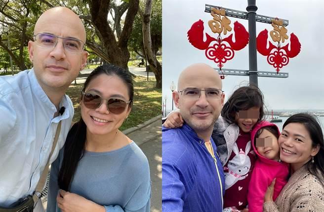 吳鳳和太太育有二女。(圖/翻攝自吳鳳 Rifat臉書)