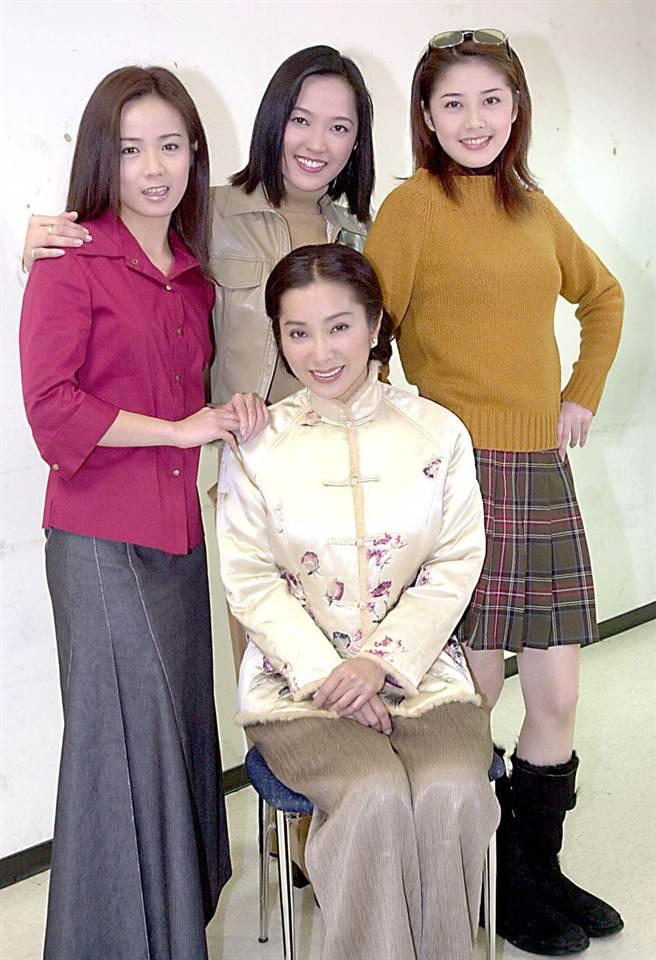 李沛綾曾是民視當家花旦。左為陳仙梅、陳美鳳、韓瑜。(圖/中時資料照)