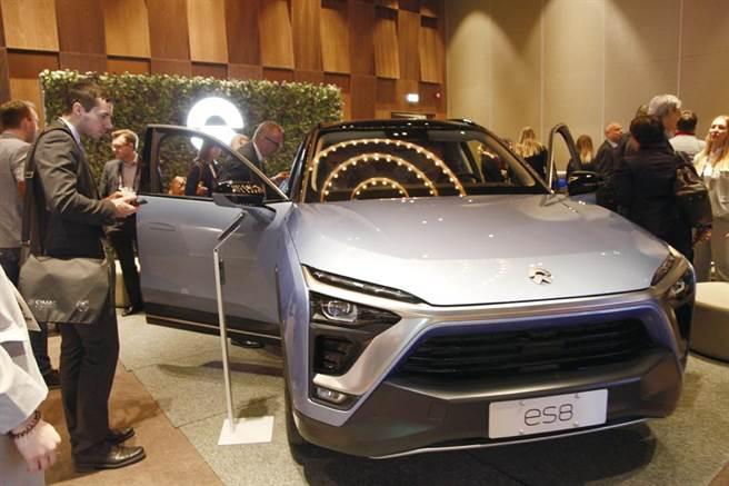 大陸電動汽車廠蔚來,將外銷挪威市場。圖/新華社