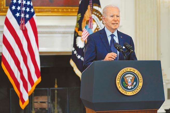 美國總統拜登4日表示,他希望在下月訪歐期間,能與俄羅斯總統普丁會晤。(美聯社)