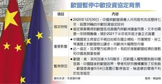 中歐投資協定 歐盟暫停審批