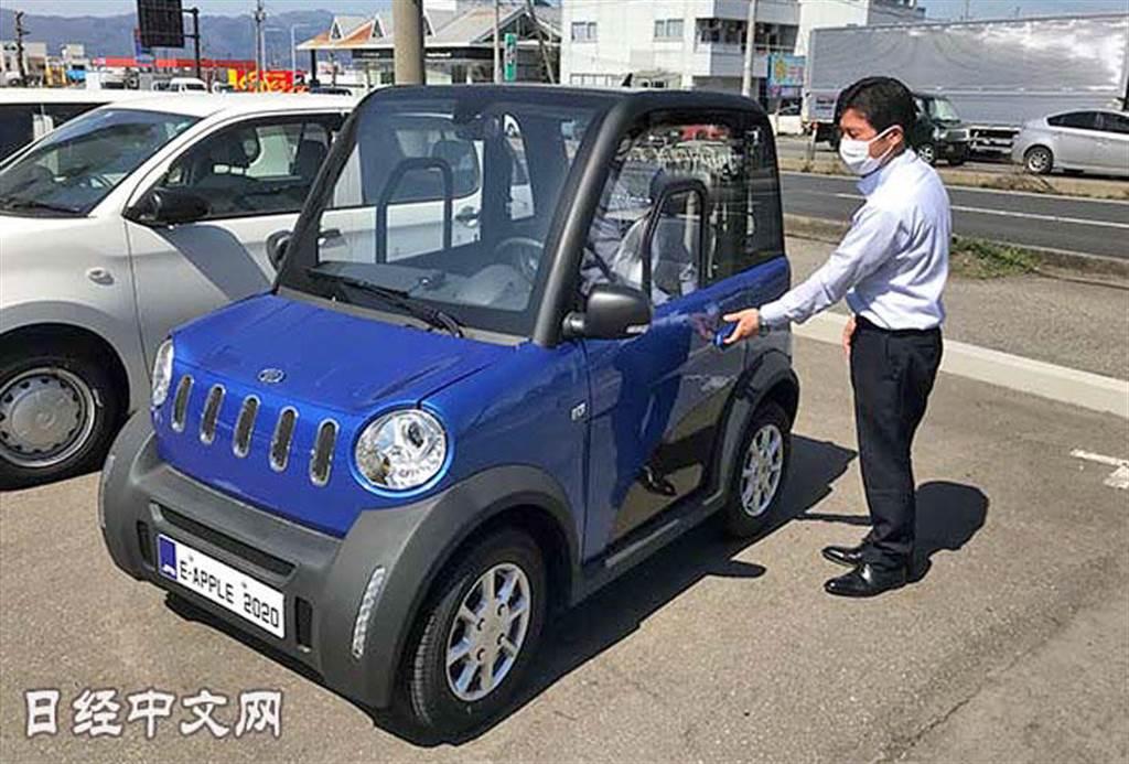 車名有亮點、售價 25 萬元起,松下在日本推「e-Apple 」超小型電動車