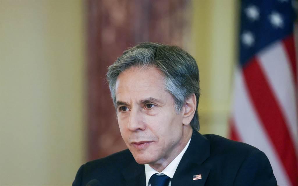 美國國務卿布林肯(Antony Blinken)。(圖/美聯社)