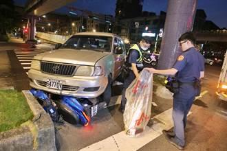 北市承德路清晨車禍 26歲機車騎士傷重不治