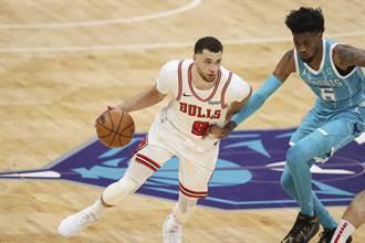 NBA》歡迎拉文回歸 公牛作客痛宰黃蜂止敗