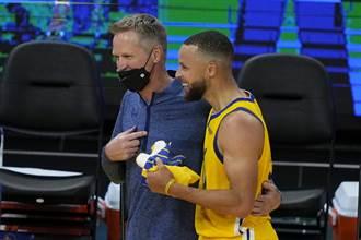 NBA》勇士不想贏?科爾:是不讓柯瑞打40分鐘