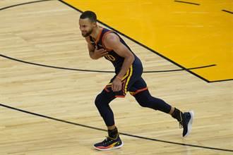 NBA》柯瑞本季第35場得分破30 勇士轟垮雷霆