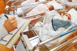 美國2020生育率下滑4% 創新低點