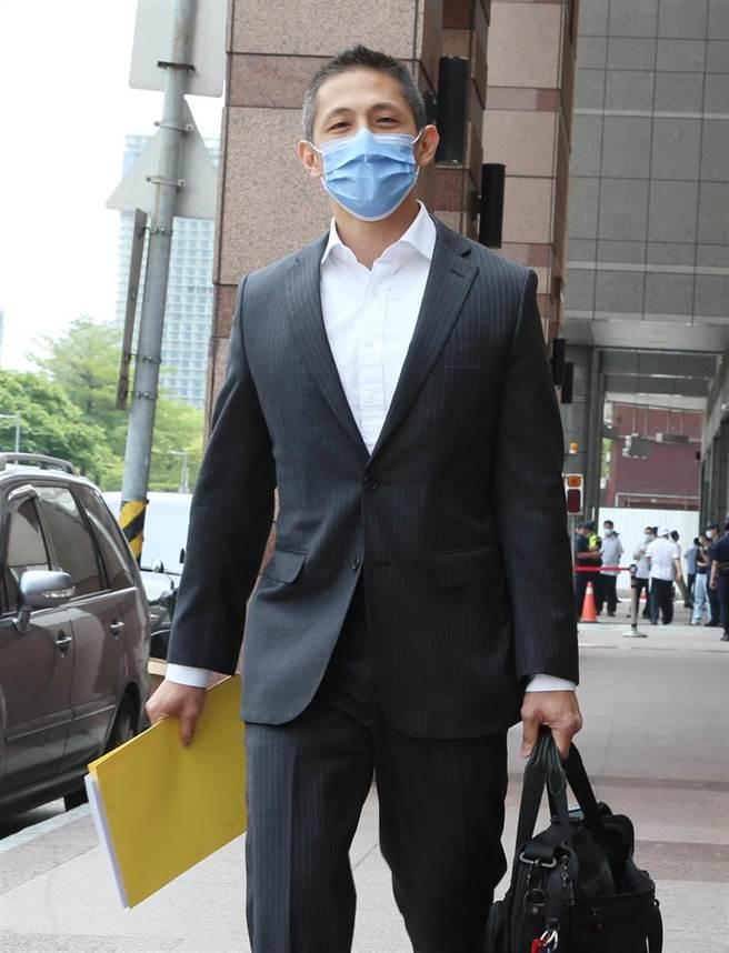台北市黨部主委吳怡農出席。(趙雙傑攝)