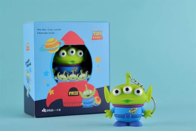 5月14日迪士尼三眼怪3D造型卡賣萌上市。(一卡通提供/黃慧雯台北傳真)