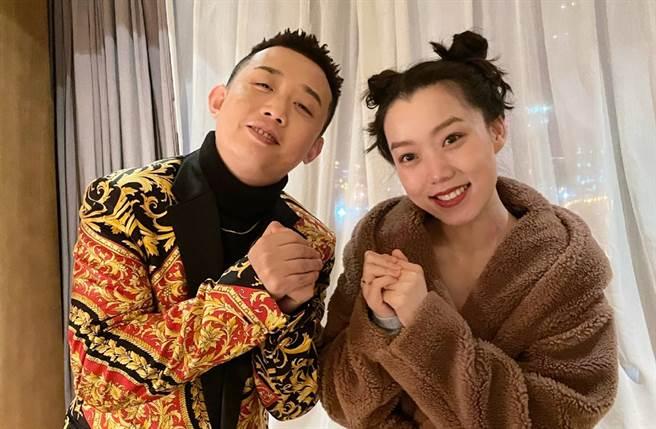 GAI與王斯然2018年領證結婚。(圖/翻攝自Wangsiran-微博)