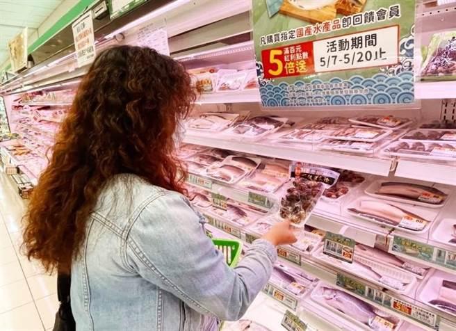 漁業署鼓勵國人多選購國產水產品。(圖/漁業署提供)