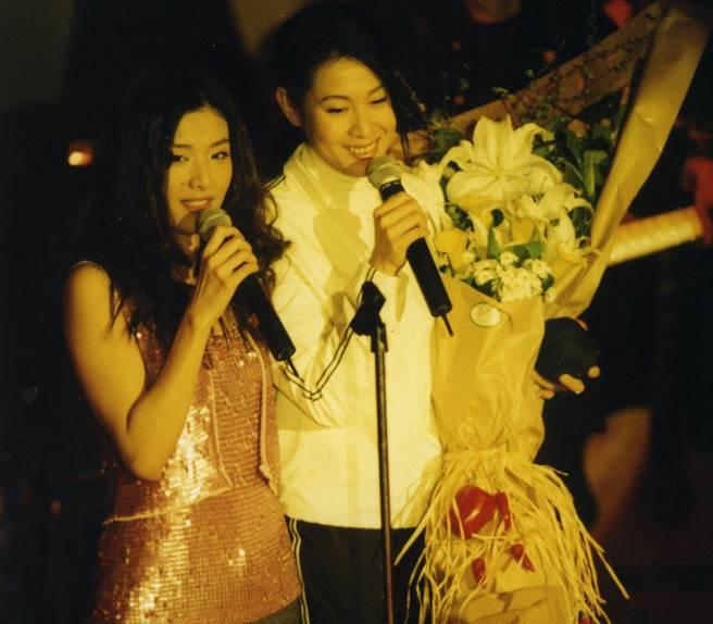 劉若英和蘇慧倫至今仍是閨蜜。(中時資料照)