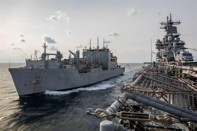美非洲司令警告,中國大陸若於非洲西岸建立海軍基地,配合其在太平洋的行動,可能讓美國「腹背受敵」。圖為美海軍於大西洋作業。(圖/美國海軍)