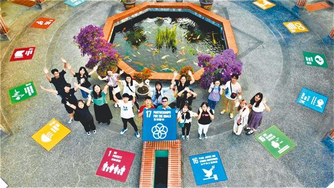 朝陽科大致力校園永續發展,進榜世界綠能大學評比全球百大,廣受肯定。(朝陽科大提供)