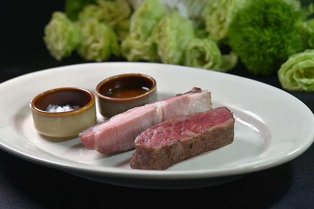 片切、條切、塊切、角切,假日晚餐到松山意舍酒店〈Que〉餐廳,各種肉排都可以吃到飽。(圖/姚舜)