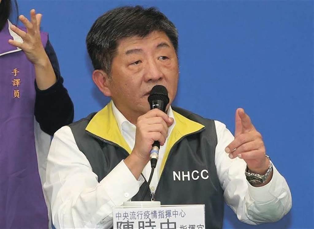 中央流行疫情指揮中心指揮官陳時中11日在記者會中回應記者「你沒講我都沒想到」,讓眾多網友傻眼罵爆。(資料照)
