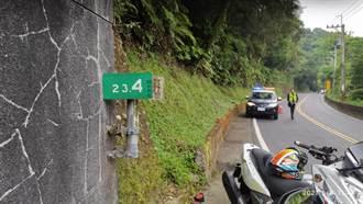 年輕男女相約出遊 北宜公路自撞山壁1死1傷