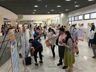 「優學台中」學習成果博覽會登場 高中生快樂自主學習