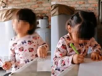 4歲鄭小妹畫圖盼豬舍屋變新房 台北善心女出75萬助圓夢