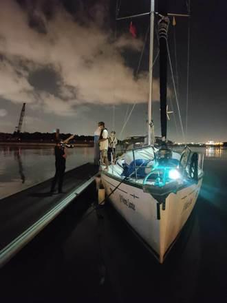 從馬來西亞駕帆船11天抵台 7人怨疾管署踢皮球上不了岸