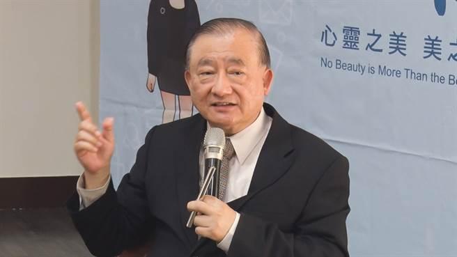 前經濟部部長尹啟銘。(圖/中時新聞網攝)